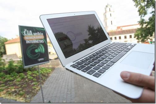 Бесплатным WiFi в Вильнюсе сейчас уже не удивить