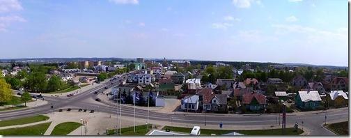 Город Алитус в Литве