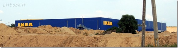 В Вильнюсе откроется первый в Прибалтике магазин IKEA