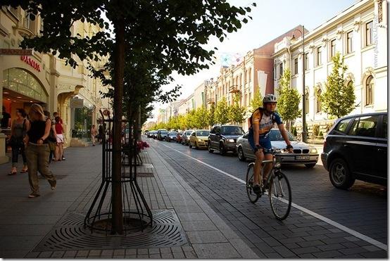 Велосипеды в Вильнюсе