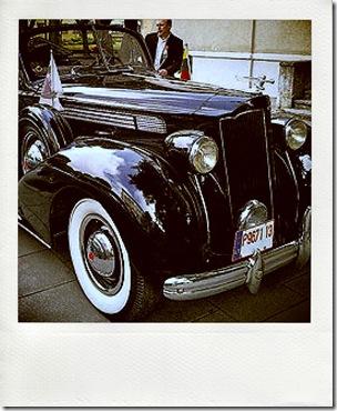 Парад старинных автомобилей в Клайпеде
